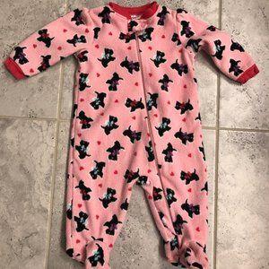 Garanimals Fleece zip up footie pajama playsuit